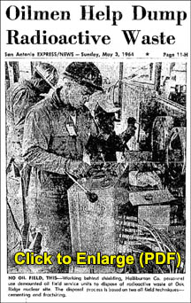 Oilmen help Dispose of Radioactive Waste-3
